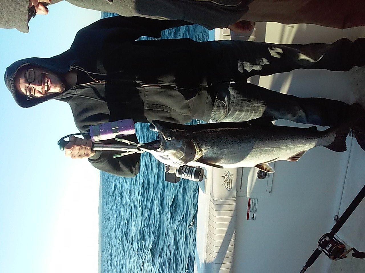 image of Lake Ontario King salmon