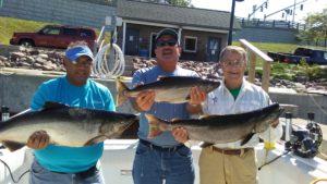 Reflections on Lake Ontario fishing July 2016