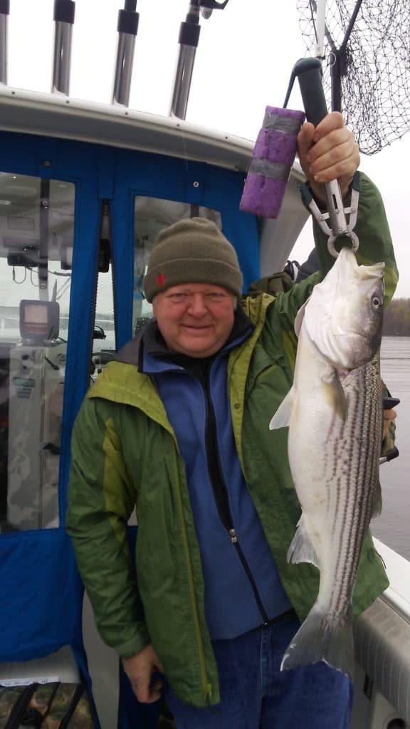 16 lb striped bass