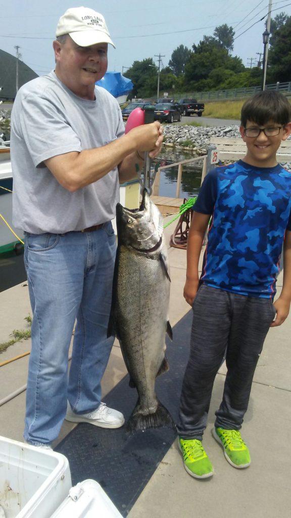 stellar July salmon fishing