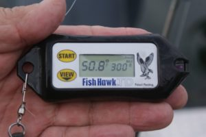 using the Fishhawk TD on Lake Ontario