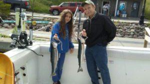 Lake Ontario steelhead fishing charters