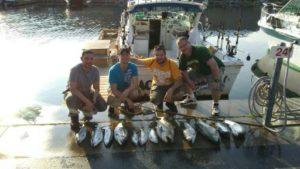 King Salmon Charters Four Man Limit